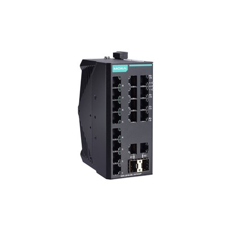 MOXA EDS-2018-ML-2GTXSFP-T Unmanaged Ethernet Switches