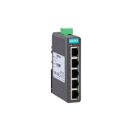 MOXA EDS-205 Unmanaged Ethernet Switches