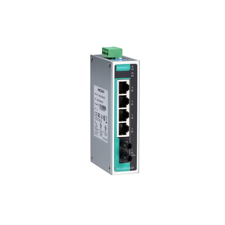 MOXA EDS-205A-M-ST-T Unmanaged Ethernet Switches