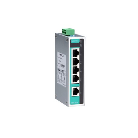 MOXA EDS-205A-T Unmanaged Ethernet Switches