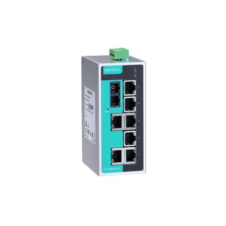 MOXA EDS-208A-M-SC Unmanaged Ethernet Switches