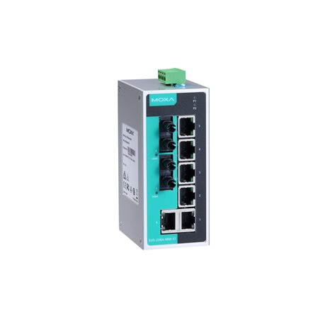 MOXA EDS-208A-MM-ST-T Unmanaged Ethernet Switches