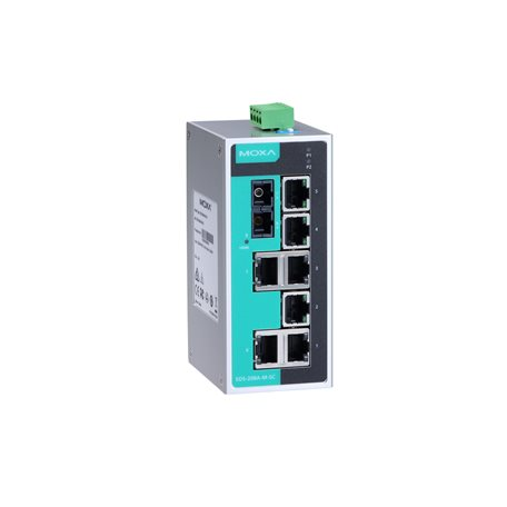 MOXA EDS-208A-S-SC-T Unmanaged Ethernet Switches