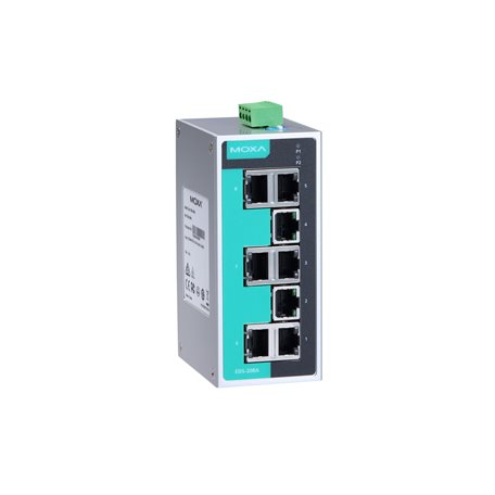 MOXA EDS-208A Unmanaged Ethernet Switches