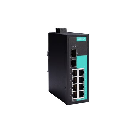 MOXA EDS-210A-1GSFP-1SFP-T Unmanaged Ethernet Switches