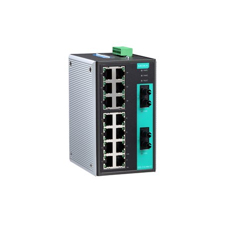 MOXA EDS-316-MM-ST-T Unmanaged Ethernet Switches