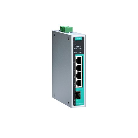 MOXA EDS-G205A-4PoE-1GSFP-T Unmanaged Ethernet Switches