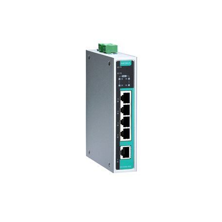MOXA EDS-G205A-4PoE-T Unmanaged Ethernet Switches
