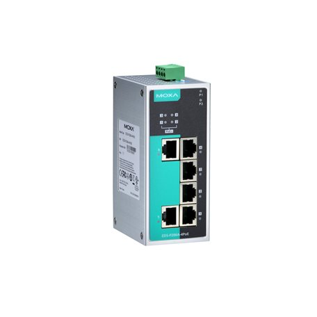 MOXA EDS-P206A-4PoE Unmanaged Ethernet Switches