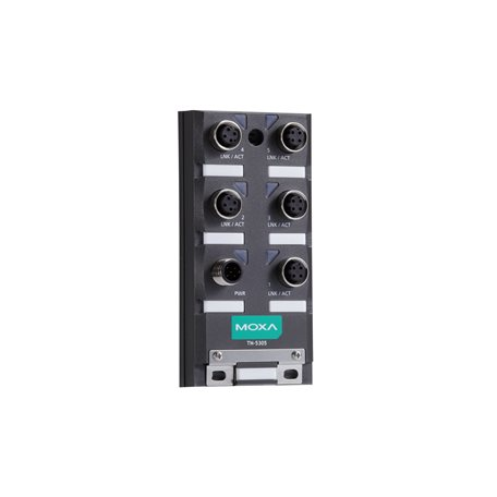 MOXA TN-5305-T Unmanaged Ethernet Switches