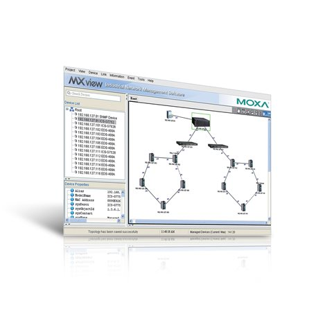 MOXA MXview-1000 Network Management Software