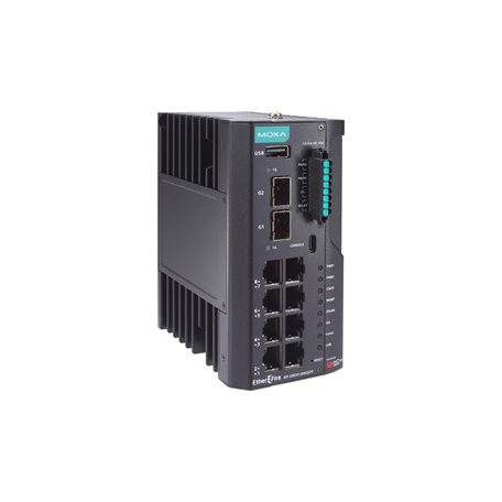 MOXA IEF-G9010-2MGSFP-Pro Industrial IPS Firewall