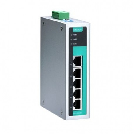 MOXA EDS-G205 Unmanaged Ethernet Switches